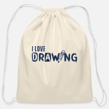 Painting Painting - Cotton Drawstring Bag