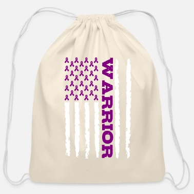 Domestic Violence Warrior - Cotton Drawstring Bag