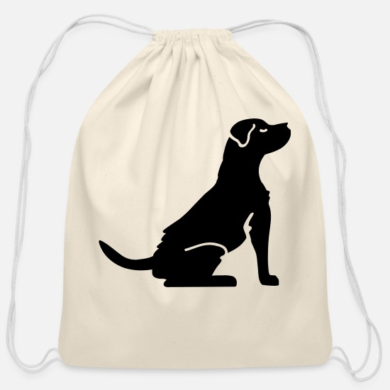 Dog Bags & Backpacks - Dog - Dog breed - Cotton Drawstring Bag natural