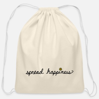 Happiness Spread Happiness Women's T-shirt - Cotton Drawstring Bag