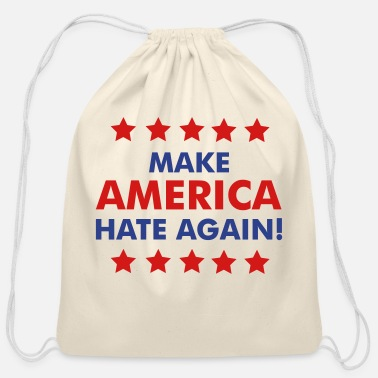 Hate Make America Hate Again - Cotton Drawstring Bag