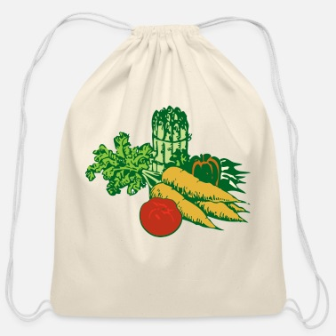 Fruit fruit - Cotton Drawstring Bag