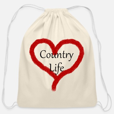 Country Life Country Life - Cotton Drawstring Bag