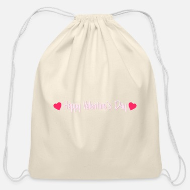 Valentine's Day Valentine's Day - Cotton Drawstring Bag