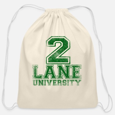 2Lane U - Cotton Drawstring Bag
