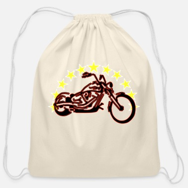 Chopper Chopper - Cotton Drawstring Bag