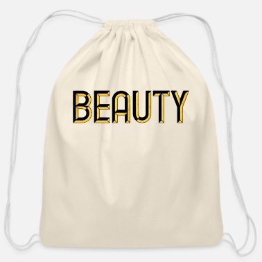 Glamour Beauty - beautiful - pretty - burlesque - glamour - Cotton Drawstring Bag