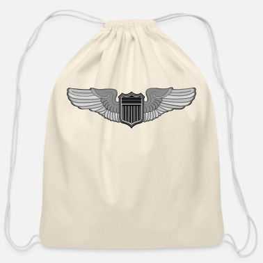 Pilot PILOT WINGS - Cotton Drawstring Bag