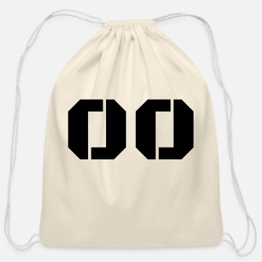 Jersey Number Jersey Number 00 - Cotton Drawstring Bag