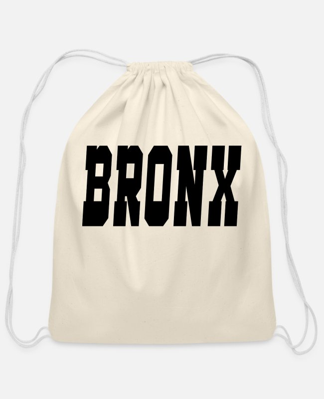 New York City Bags & Backpacks - bronx - Cotton Drawstring Bag natural