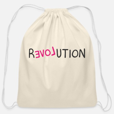 Revolution Revolution - Cotton Drawstring Bag