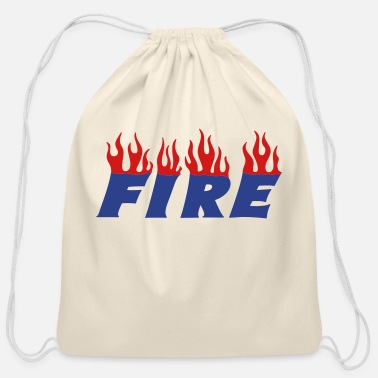 Girlfriend fire - Cotton Drawstring Bag