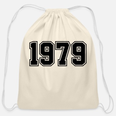 Year Of Birth 1979 | Year of Birth | Birth Year | Birthday - Cotton Drawstring Bag