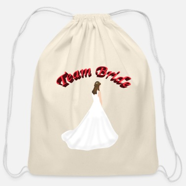 Bride - Bachelorette Party Team Bride bachelorette party - Cotton Drawstring Bag
