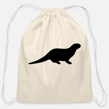 Otter - Cotton Drawstring Bag