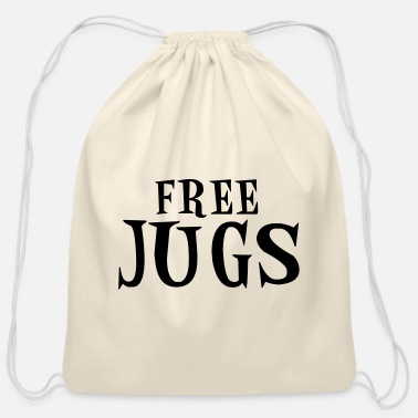 Jug free jugs - Cotton Drawstring Bag