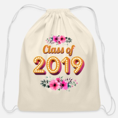 2019 Class Of 2019 - Cotton Drawstring Bag
