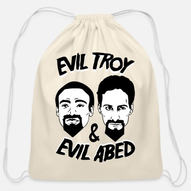 Troy Troy And Abed - Cotton Drawstring Bag