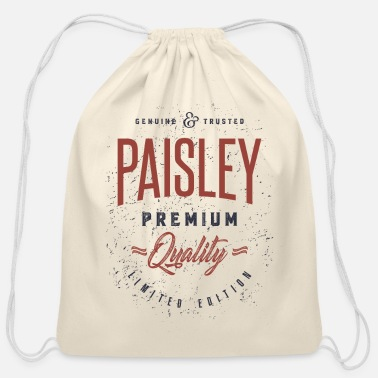 Paisley Paisley - Cotton Drawstring Bag
