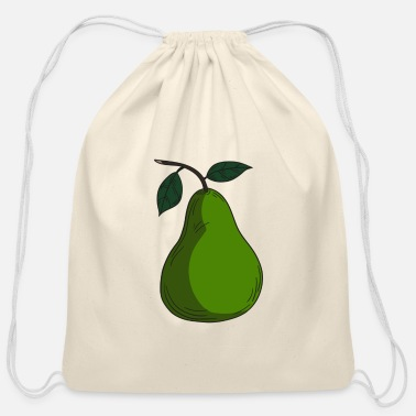 Pear Pear - Cotton Drawstring Bag