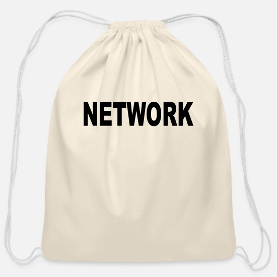 Networking Bags & Backpacks - Network - Cotton Drawstring Bag natural