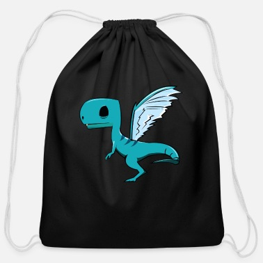 Fly Fly Dino Fly - Cotton Drawstring Bag