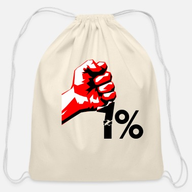 Occupy occupy - Cotton Drawstring Bag
