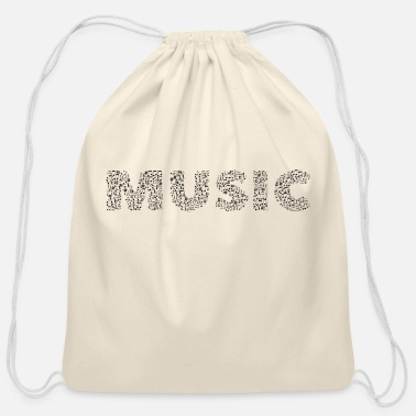 Abstract Music abstract music - Cotton Drawstring Bag