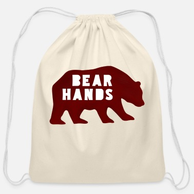 Bear Hands - Cotton Drawstring Bag