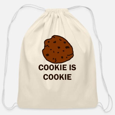 Cookie Cookie is Cookie - Cotton Drawstring Bag