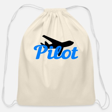 Pilot Pilot Pilots - Cotton Drawstring Bag
