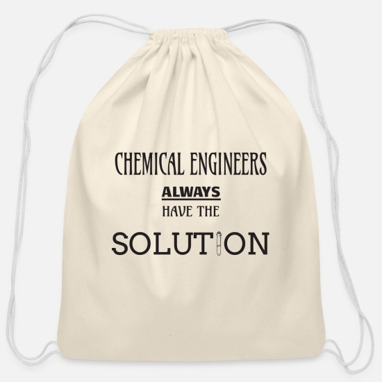 Solution Bags & Backpacks - Chemical engineer - Cotton Drawstring Bag natural