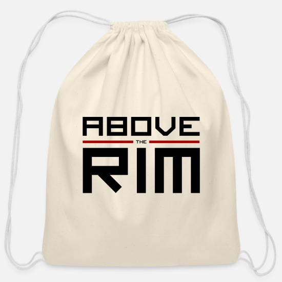 Love Bags & Backpacks - ABOVE THE RIM BCKTS CLTR TEE - Cotton Drawstring Bag natural