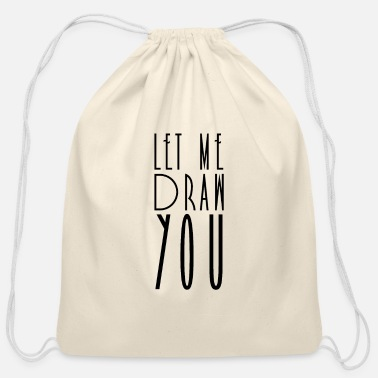 Drawing Drawing Drawing Drawing Drawing - Cotton Drawstring Bag