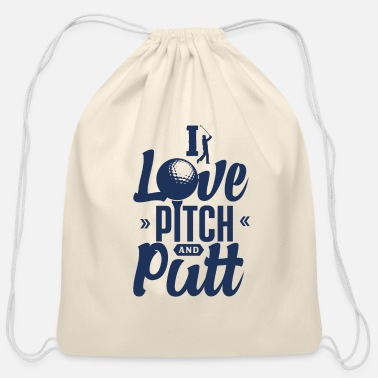 Pitch Pitch & Putt Pitch & Putt Pitch & Putt - Cotton Drawstring Bag