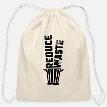 Reduce Reduce Waste - Cotton Drawstring Bag