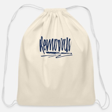 Remove Removals - Cotton Drawstring Bag