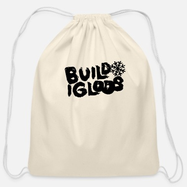 Igloo Igloo Builder Igloo Lover Eskimo Igloos - Cotton Drawstring Bag