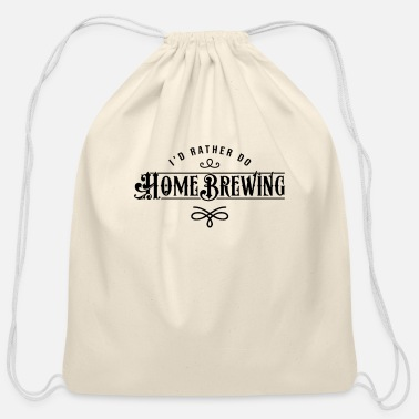 Home Brewing Brew Beers Home Brewing - Cotton Drawstring Bag