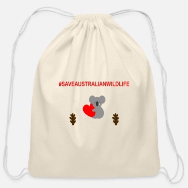 animal lovers ARC - Cotton Drawstring Bag
