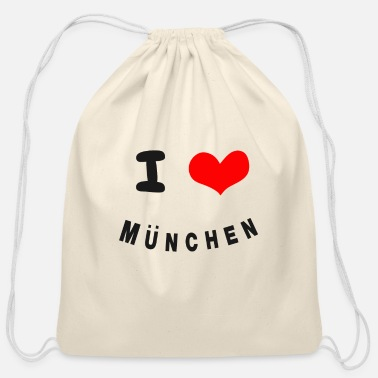 Munich Munich - Cotton Drawstring Bag