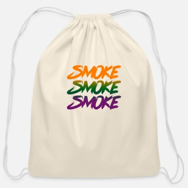 Smoking Smoke Smoke Smoke - Cotton Drawstring Bag