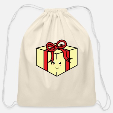 Birthday Present Birthday Present - Cotton Drawstring Bag