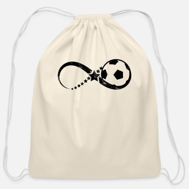 Womens Soccer Soccer - Infinity - Goal - Womens Soccer - Gift - Cotton Drawstring Bag