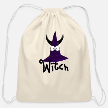 Witch Witch - Cotton Drawstring Bag
