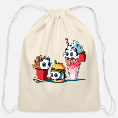 Meal Combo Meal - Cotton Drawstring Bag