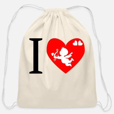 Cupid cupid - Cotton Drawstring Bag