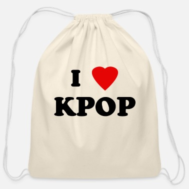 Kpop kpop - Cotton Drawstring Bag