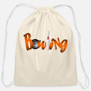 Bowling - Cotton Drawstring Bag