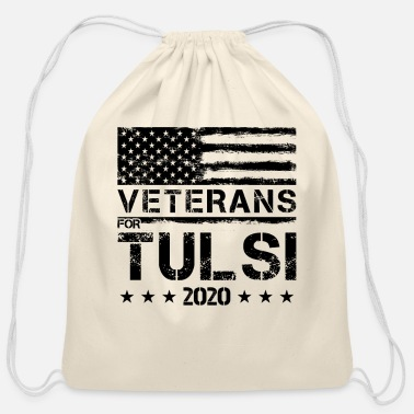 Revolution Veterans For Tulsi Gabbard 2020 Election Day Gift - Cotton Drawstring Bag